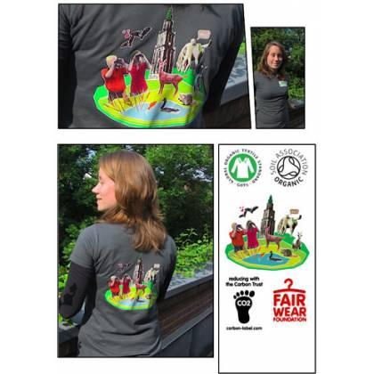 Dames t-shirt (M)
