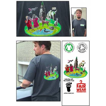 Heren t-shirt (L)